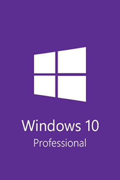 Windows 10 Pro Retail Dijital Lisans 32&64 + Ömür Boyu