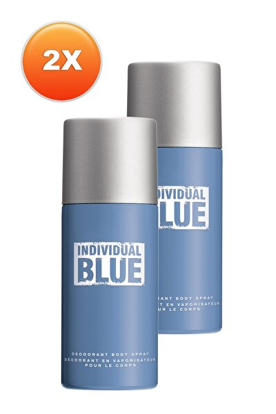 Individual Blue Erkek Deodorant 2'li Set 5050000101219