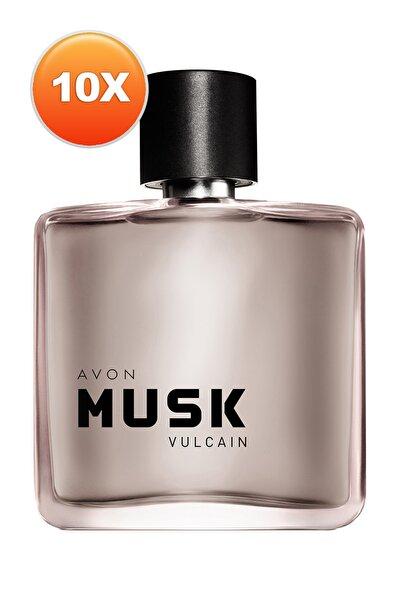 Musk Vulcain Erkek Parfüm Edt 75 ml 10'lu Set 5050000105002