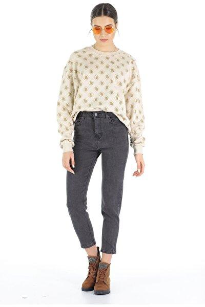 Mom Jeans Pantolon