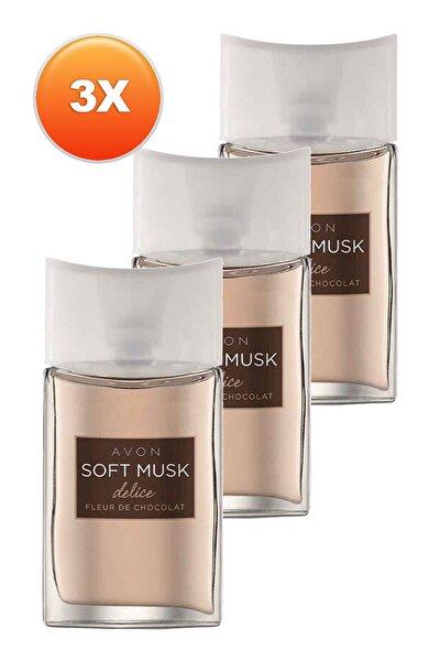 Soft Musk Delice Kadın Parfüm Edt 50 ml 3'lü Set 5050000103824