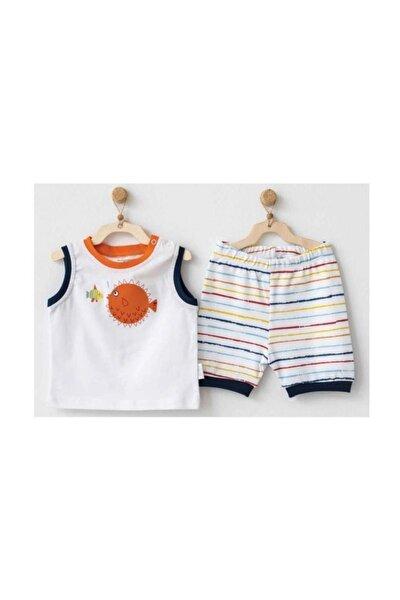 Erkek Bebek Pijama Takım 2'li Set