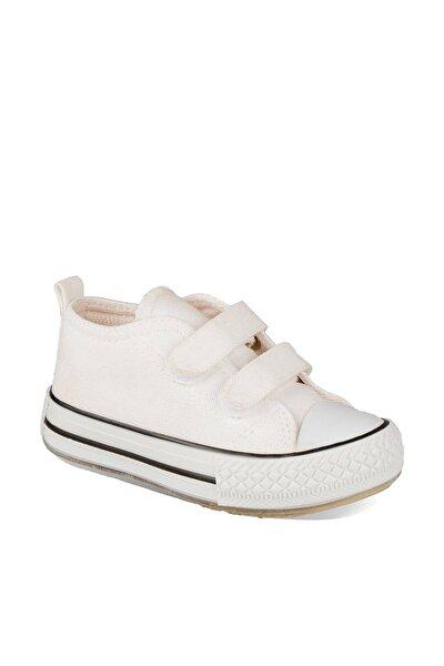 925.P20Y.150 Beyaz Kız Çocuk Günlük Ayakkabı