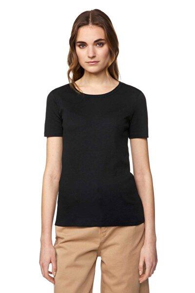Kadın Bisiklet Yaka Basic Tshirt 312013GA2E16A0-100
