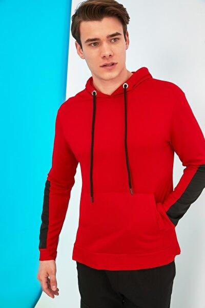 Kırmızı Erkek Regular Fit Sweatshirt TMNSS21SW0186