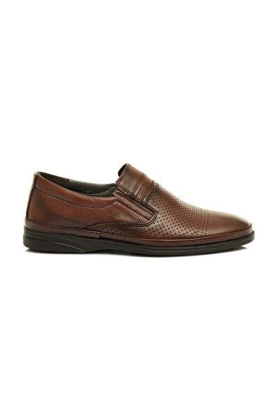 Hakiki Deri, Erkek Günlük Delikli Yazlık Ayakkabı