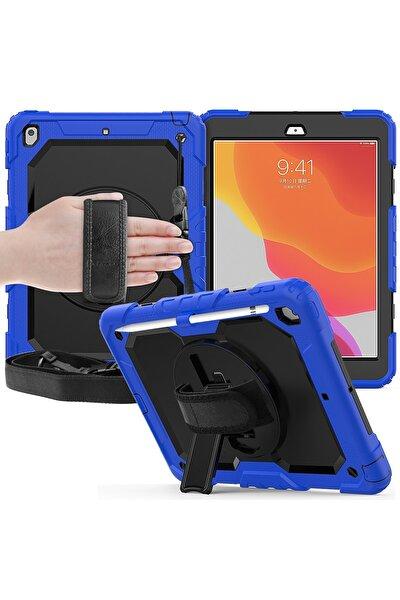 Apple Ipad 10.2 (8.nesil) Kılıf Tam Koruma Sağlayan Pars Tablet Kılıfı - Siyah