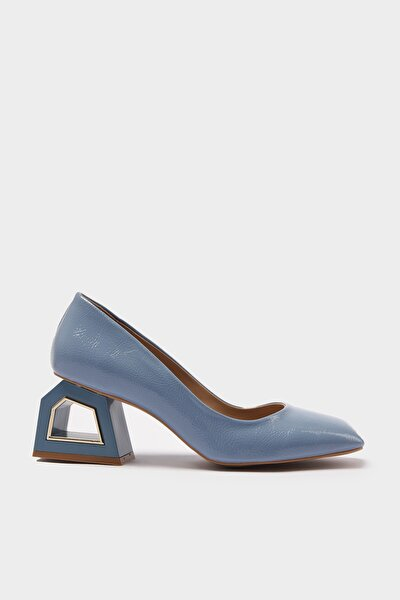 Mavi Kadın Klasik Topuklu Ayakkabı 01AYH214740A620