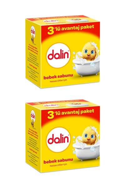 Bebe Sabun 100 gr 3'lü Avantaj Paketi x 2 Adet