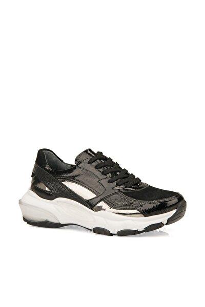 Hakiki Deri Kadın Ayakkabı 9357U 2102 SIYAH