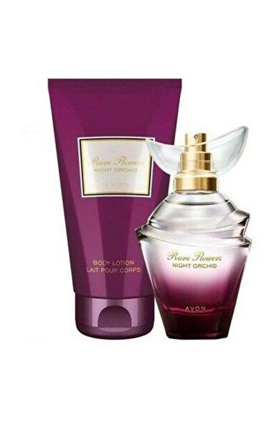 Rare Flowers Night Orchid Parfüm Ve Vücut Losyonu Seti