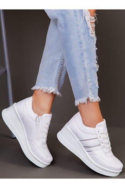 Kadın Beyaz Spor Ayakkabı  1298154