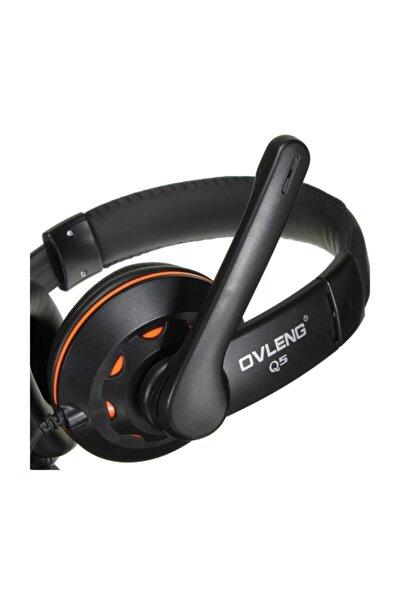 Ov-q5 Usb 2.0 Stereo Kulaklık Mikrofonlu Kulaklık Usb