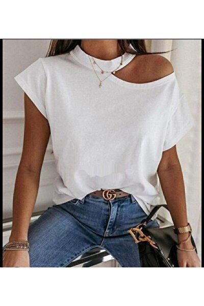 Yaka Detay Janes Süprem Kumaş Bluz 50cm