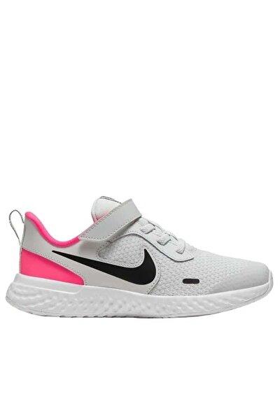 Unisex Çocuk Beyaz Yürüyüş Koşu Ayakkabı Bq5672-010 Revolutıon 5 Psv