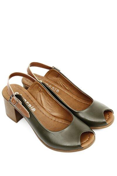 Haki Kadın Sandalet 40205