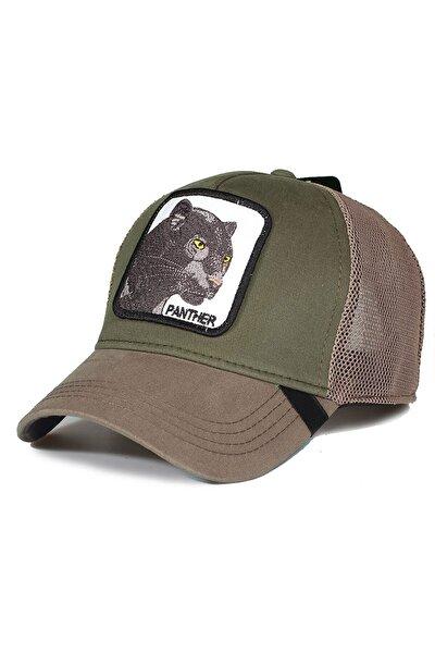 Hayvan Figürlü Animal Farm Şapka Panter Resimli Cap