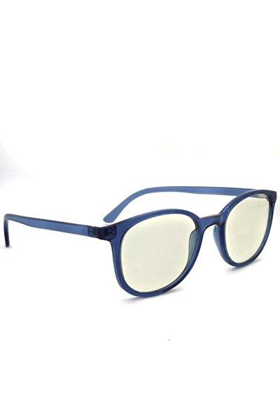 Unısex Mavi Baham Mavi Işık Korumalı Ekran Gözlüğü