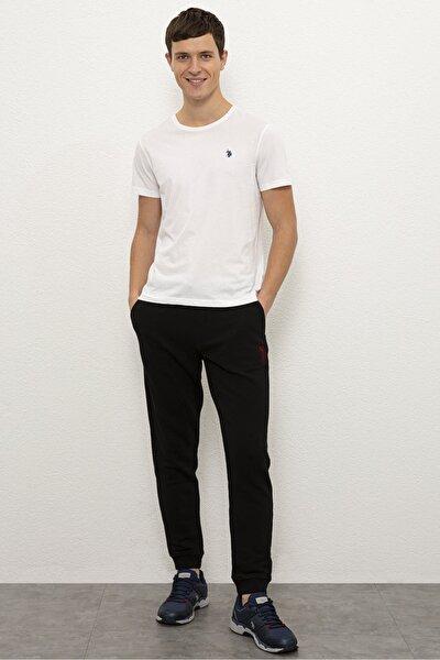 Sıyah Erkek Örme Pantolon