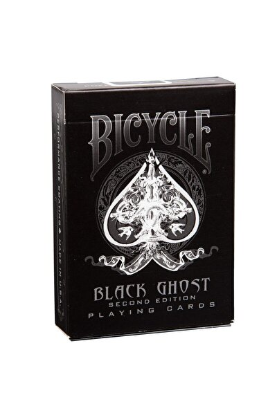 Bicycle Black Ghost 2edition Siyah Oyun Kağıdı Iskambil Destesi