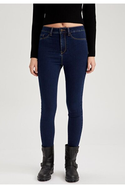 Kadın Mavi Anna Super Skinny Fit Jean Pantolon
