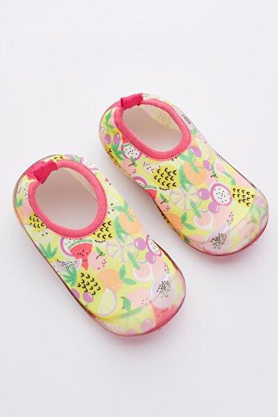 Çok Renkli Kız Çocuk Tropıcal Fruıt Ayakkabı