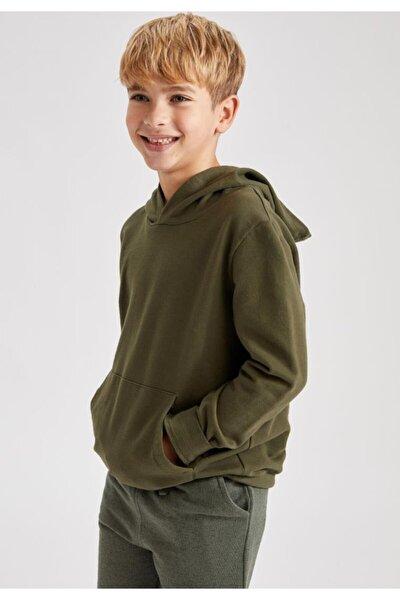 Erkek Çocuk Basic Sweatshirt