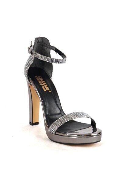 Kadın Platin Platform Topuklu Ayakkabı 430.1531