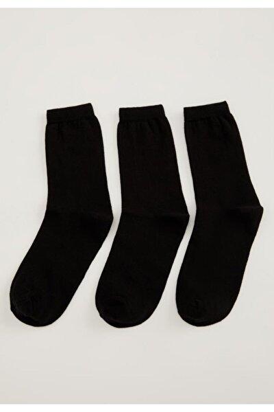 Kadın Soket Çorap 3'lü T7523AZ21SP