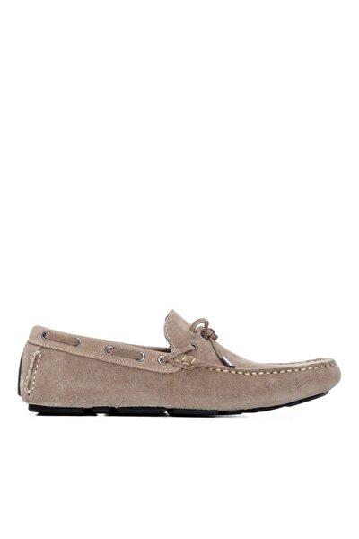 Erkek Bej Derı Rok Ayakkabı 818 079 Erk Ayk Y21