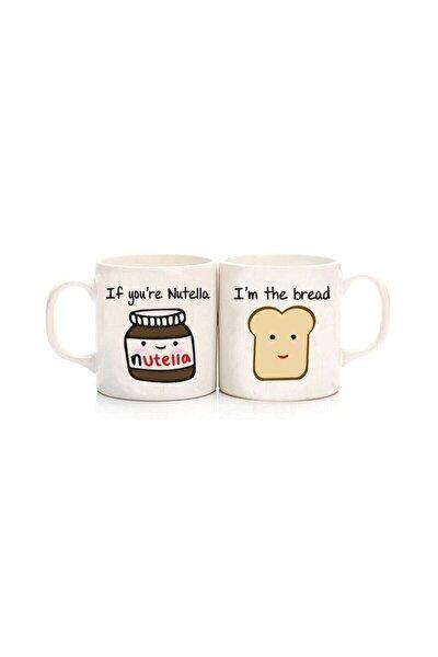 Nutella & Ekmek Best Friends Kupa