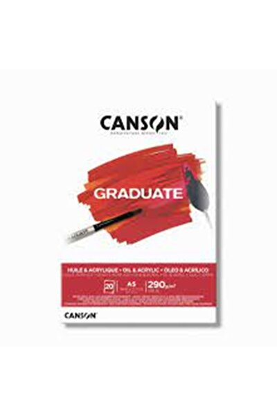 Pad Graduate Oıl And Acrylıc 20sy A5 290gr