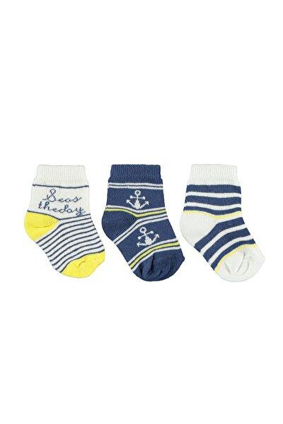 Erkek Bebek Lacivert Çorap