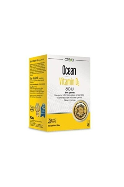 Vitamin D3 600 Iu Oral Sprey 20 ml