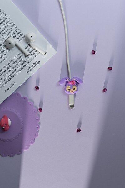 Silikonlu Rabbit Kablo Koruyucu