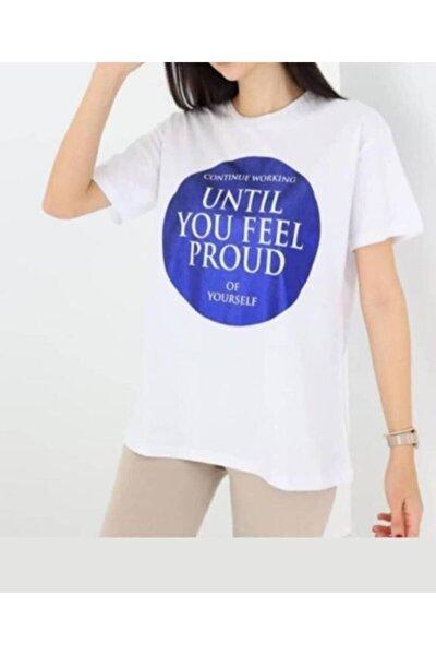 Önü Yazılı Tshirt