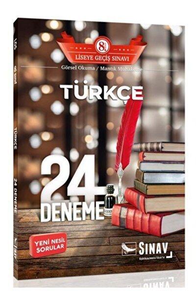 8.sınıf Sınav Türkçe 24 Ayar Deneme