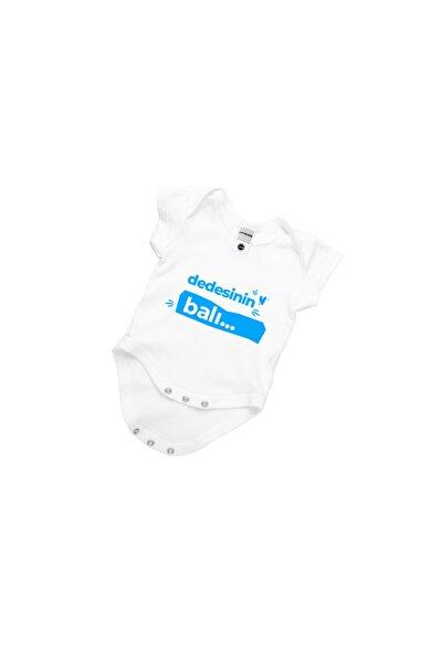 Bebek Beyaz Dedesinin Balı Yazılı Zıbın