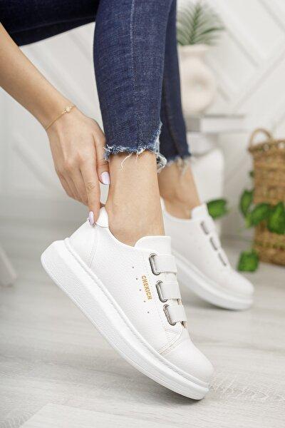 Ch253 Kadın Ayakkabı Beyaz