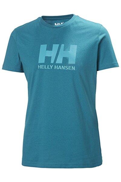 Kadın Turkuaz Hh W Hh Logo T-shırt