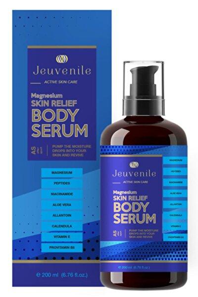 Magnezyum Canlandırıcı & Sıkılaştırıcı Vücut Serumu - Skin Relief Magnesium Body Serum 200 ml