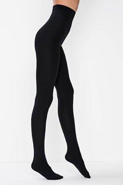 Termal Kadın Siyah Içi Polar Kışlık Esnek Külotlu Çorap