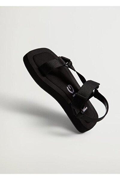 Platformlu Bantlı Sandalet