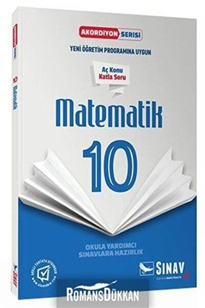 Sınav 10.sınıf Matematik Akordiyon Kitap