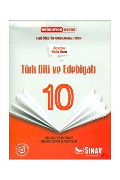 Sınav 10.sınıf Türk Dili Ve Edebiyatı Aç Konu Katla Soru