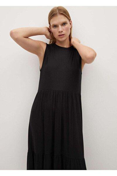 Kalın Pilili Elbise