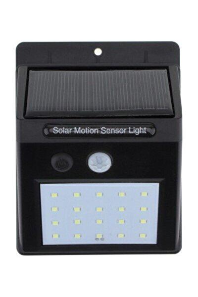 Solar Güneş Enerjili Hareket Sensörlü 20 Ledli Duvar Lambası