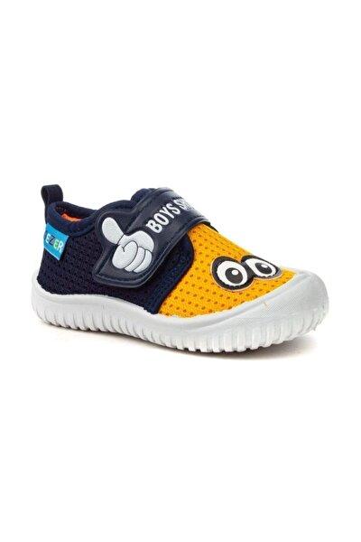 3035 Erkek Çocuk Lacivert Yazlık Anaokulu/Kreş Ayakkabı Panduf