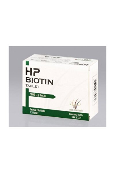 Hp Biotin 5 Mg 120 Tablet