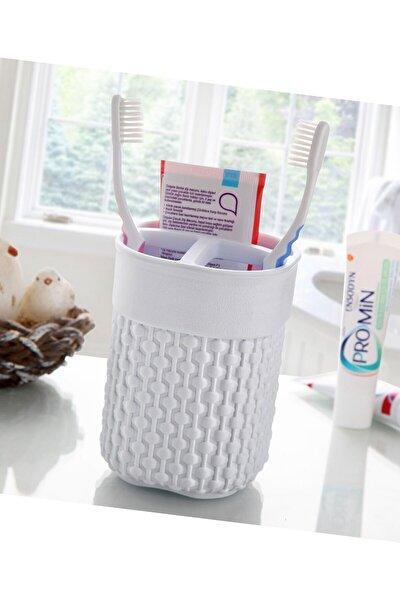 Diş Fırçalık 3 Gözlü Diş Fırçası Diş Macunu Saklama Kutusu Diş Fırçalığı
